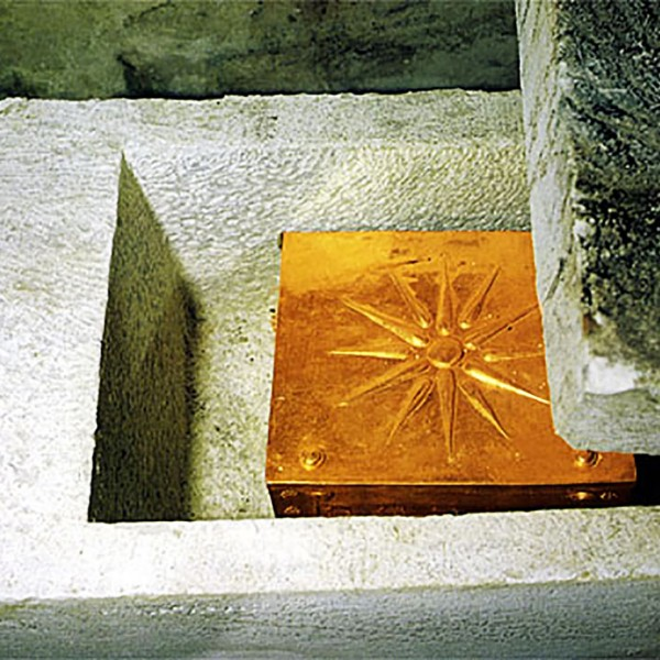 A gold box the royal tomb of Philip II of Macedonia in Vergina, part of the ASIT 8 day Greece tour