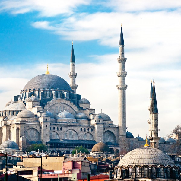 The extraordinary Hagia Sophia mosque, one of the many attractions in the city of Istanbul in Turkey