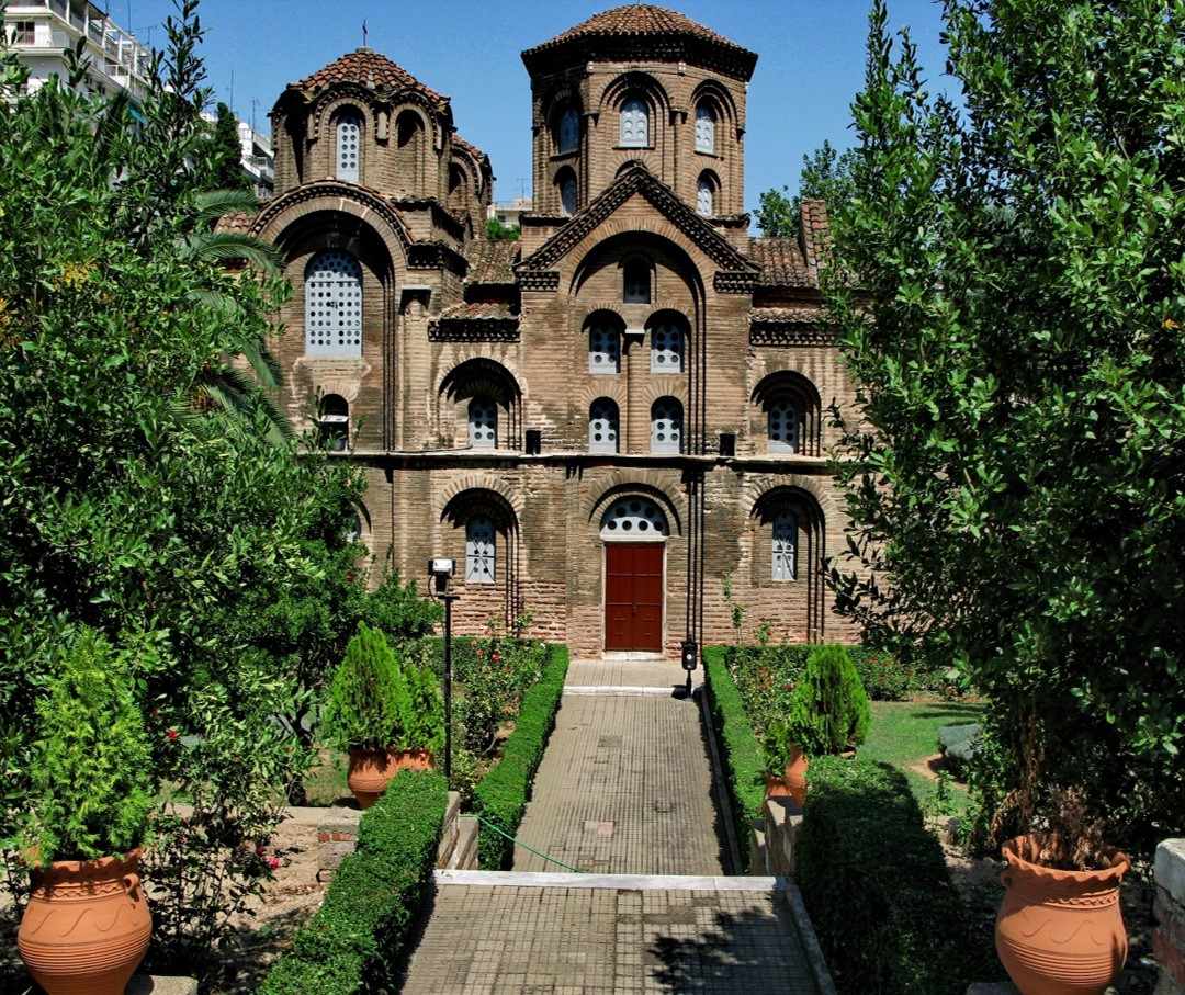 The Church of Panagia Chalkeon is one of the attractions on ASIT's Byzantine Tour of Thessaloniki
