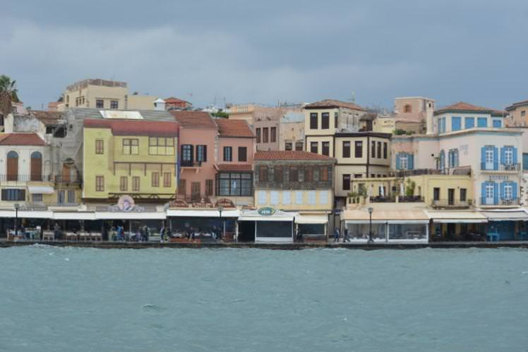 Winter seas at historic Hania port in Crete. Image by Alexis Averbuck / Lonely Planet