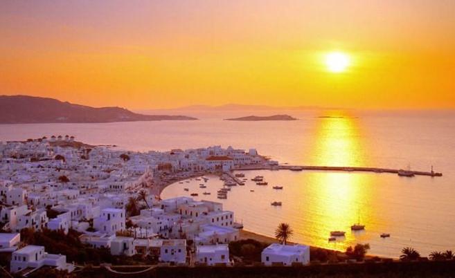 Delian Sunset