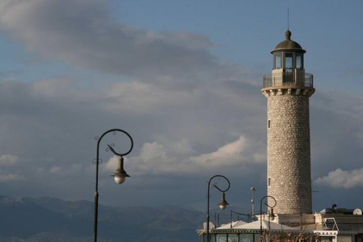 The lighthouse of Patras, home of the biggest Carnival in Greece. Image by Konstantinos Petrakopoulos / CC BY 2.0