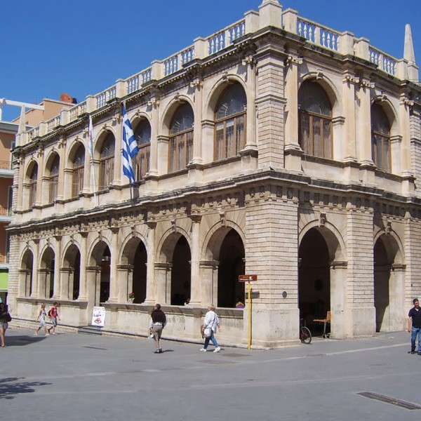 A historic Venetian building in Rhodes, on the ASIT 7 day round trip vacation tour from Athens