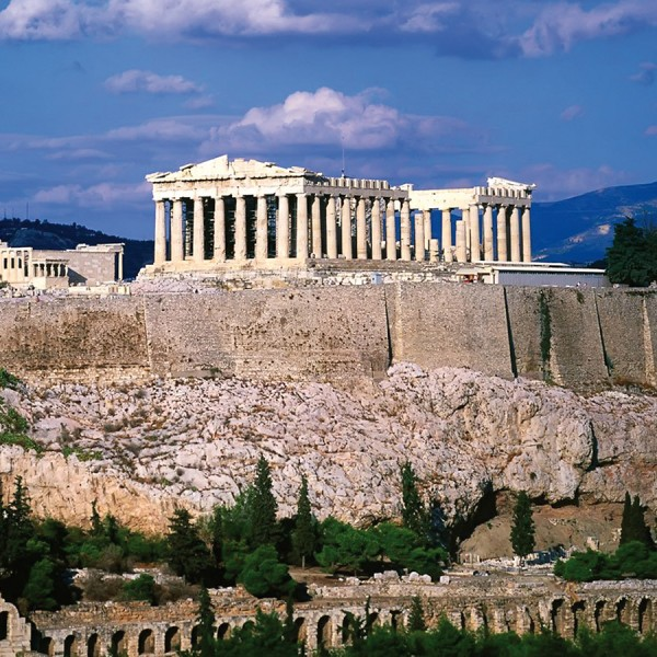 ASIT's 5 day Athens to Rhodes winter vacation includes an Athens city tour featuring the Parthenon
