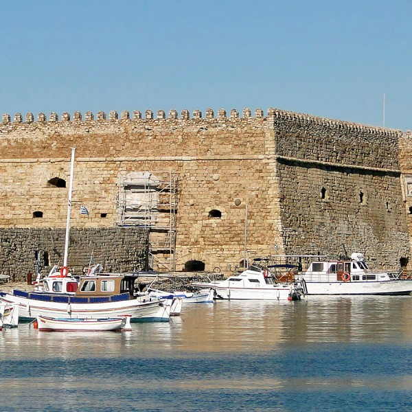 ASIT's Heraklion city break tour package includes highlights like Koules Fortress in the city's port